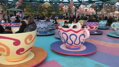 Disneyland teacups