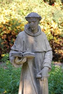 A statue in Cypress Gardens, LEGOLAND, Florida