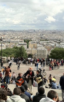 The steps of Montmartre