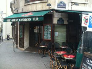 The Great Canadian Pub in Paris