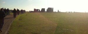 The path leading to Stonehenge