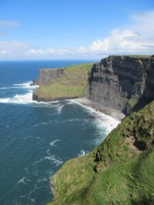 The Cliffs of Moher, in Ireland