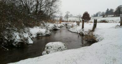 Snowy countryside