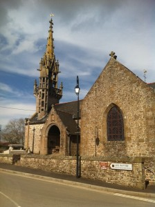 The church in Monthault