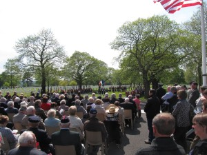 Memorial Day at the Brittany American Cemetery and Memorial