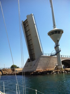 Drawbridge at Mar Menor