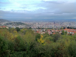 Clermont-Ferrand from above