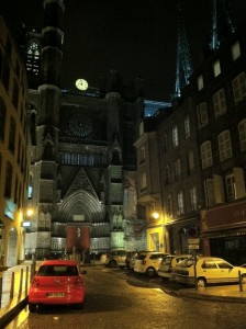 The Cathedral in Clermont-Ferrand