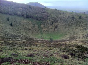 The crater of Le Pariou