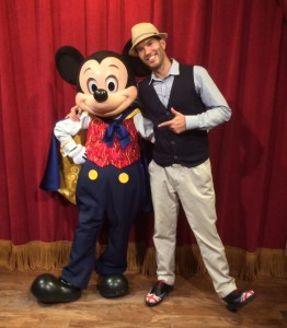 Magician Mickey Mouse