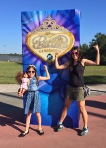 Princess Half Marathon sign at ESPN