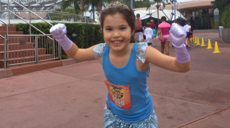 Princess Mickey Mile at Epcot