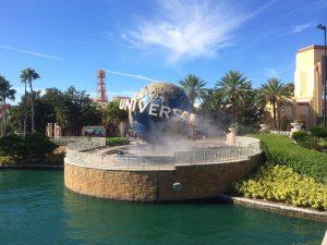 Univeral Orlando globe