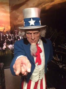 Uncle Sam at Madame Tussauds Orlando