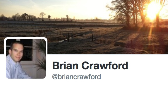Brian Crawford on Twitter