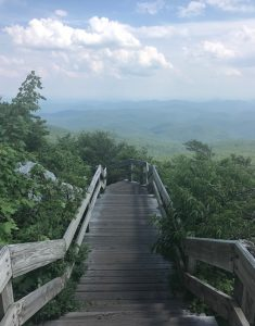 Rough Ridge Hiking Trail boardwalk