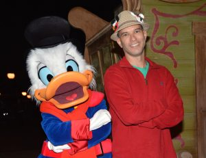 Scrooge McDuck at Mickey's Very Merry Christmas Party
