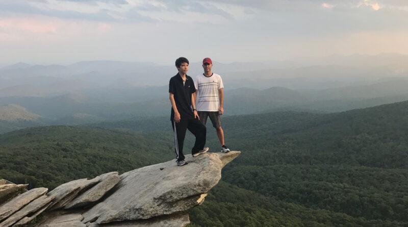 Rough Ridge Hiking Trail lookout
